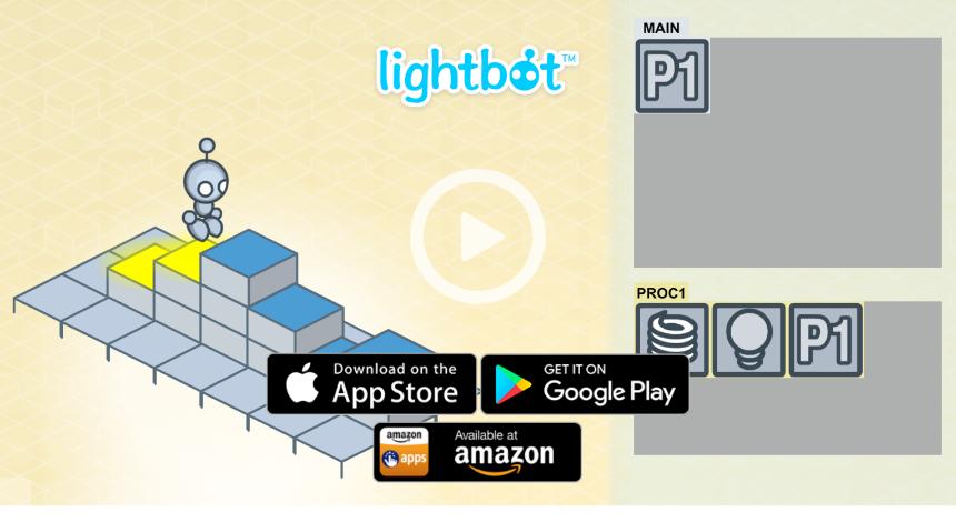 LightBotのTOP画像